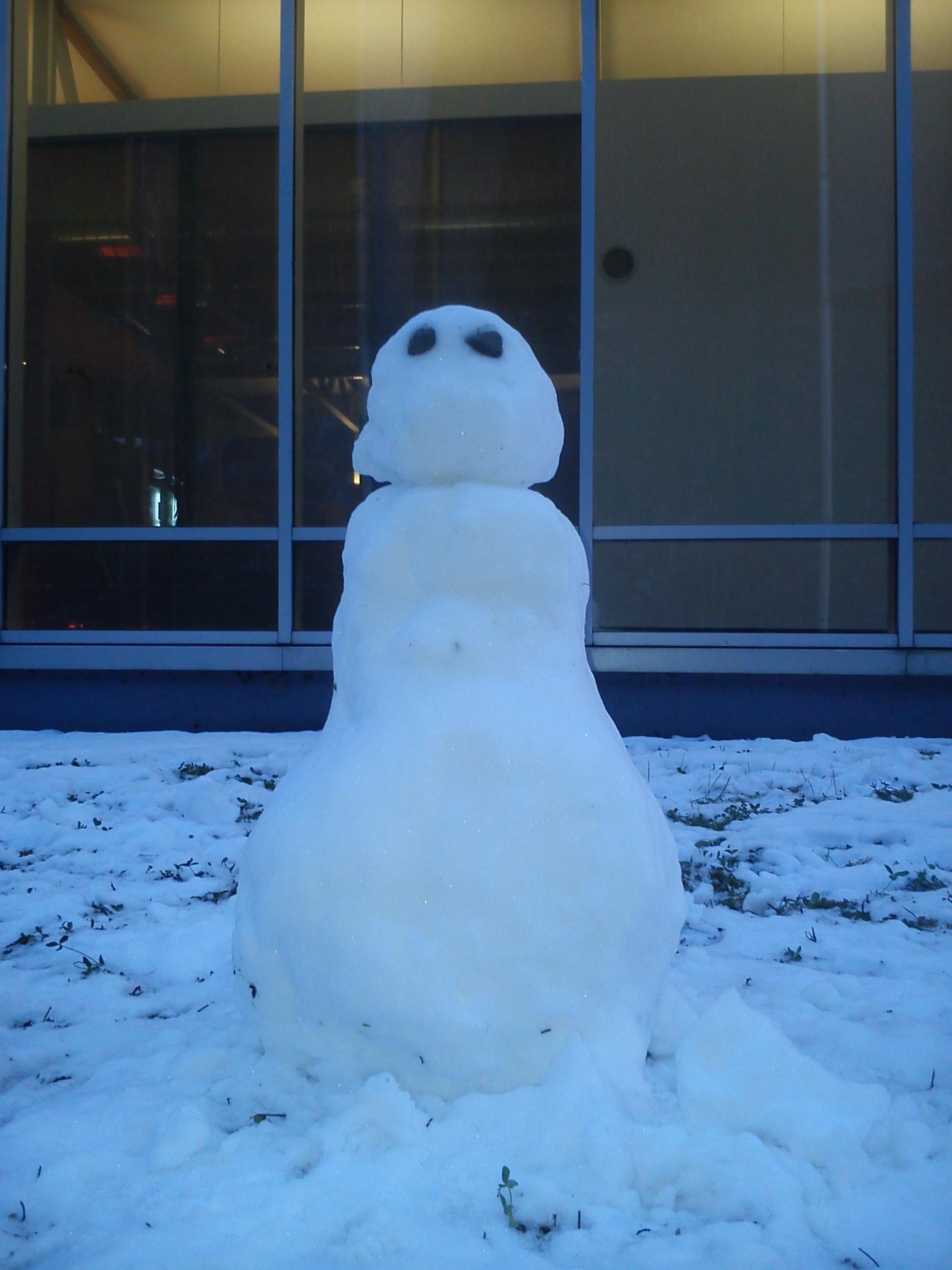 Alternativprogramm bei Schneefall